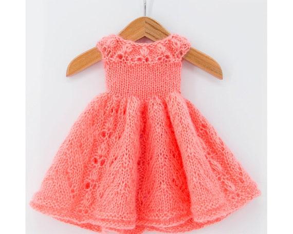 Doll Dress Knitting Pattern for Kaye Wiggs MSD BJD Dolls ...
