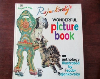 70s vintage children's book - Rojankovsky's Wonderful Picture Book