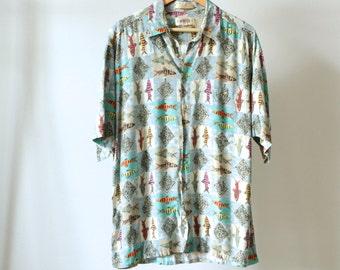 90s BODY GLOVE style surf shirt