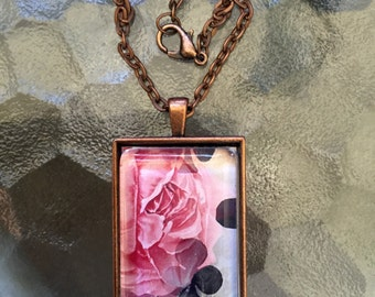 Clubs And Roses  Pendant Necklace On Etsy Sale Item Jewelry Alteredhead On Etsy Etsy Jewelry Popular Mothers Day Gifts