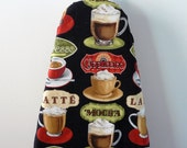 Ironing Board Cover - coffee cappuccino mocha latte