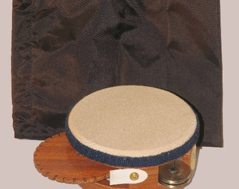 HAND DRUM  -  The KLACKER ( a tambourine like percussion instrument)by American Percussion.com