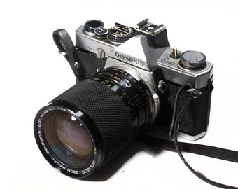 Olympus OM-2 with 28-80mm zoom lens