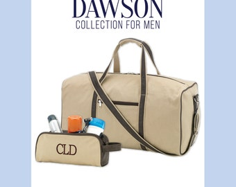 Dawson Duffel and Toiletry Bag - FREE Personalization