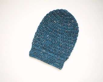Toddler Slouchy Hat in Jacquard, Crochet Hat for Kids, Slouchy Beanie, Boys Hat, Girls Hat, READY TO SHIP, 2T to 4T (Morgan)