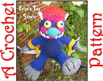 My Pet Monster a Crochet Pattern by Erin Scull