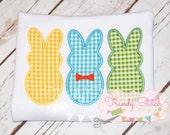 Bunnies Boy Applique Design Machine Embroidery Design INSTANT DOWNLOAD