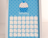 2016 8x10 Cupcake Calendar, great to frame