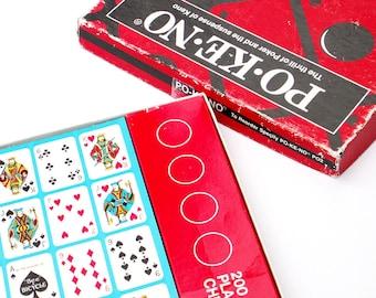 Po-Ke-No Poker Keno Vintage Gambling Game Pokeno