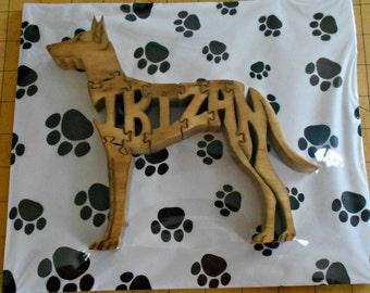 Ibizan Handmade Fretwork Wood Jigsaw Puzzle