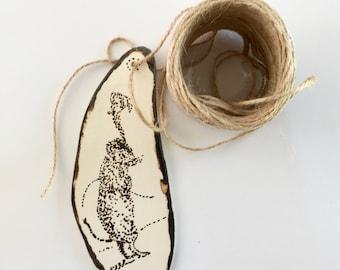 Hand Made Decor : I am Porcelain who wants to be Enamel