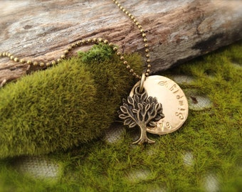 Tree Live Simply Necklace