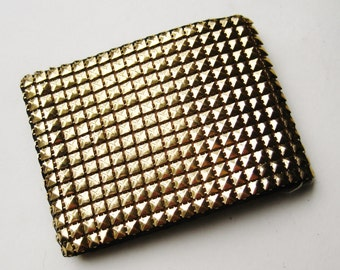 Vintage 40s Gold Mesh DuraMesh Glamour Girl Wallet
