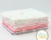"Magic - Pink - Half Yard Bundle Bundle - 11 - 18""x44"" Cuts - Sarah Jane - Michael Miller Quilt Fabric"