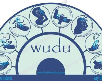 The Wudu Cling - Blue