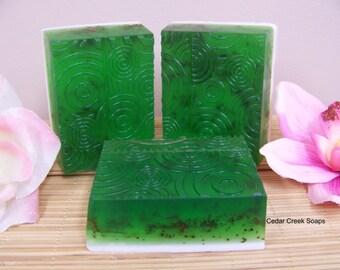 Eucalyptus Spearmint Soap ~ Natural Triple Butter Soap  ~ Eucalyptus Spearmint Scented Soap