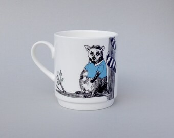 Lemur Stackable Tea Mug