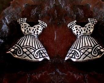 Dress Stud Earrings Sterling Silver Free Domestic Shipping