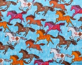 Flannel pajama pants print lounge dorm made to order your choice size XS - 2X southwest galloping horse print