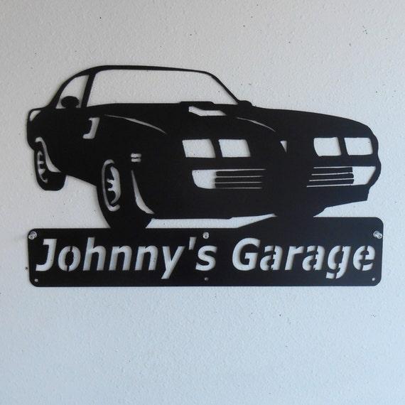 1979 Pontiac Firebird Trans Am Personalized Man Cave Classic  Garage Sign Satin Black