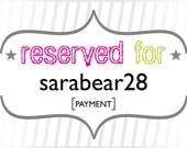 sarabear28: Payment for Custom Place Cards