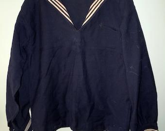Vintage Wool Navy Shirt