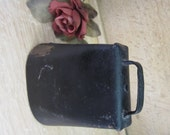 RESERVED for JOANN Vintage Rustic Cow Bell ... More Cow Bell !!  Nice Primitive Home Decor or Functional Play Time