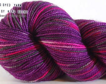 Adore - Pixel Yarn - By Moonlight - Limited Edition Sock Yarn - 2 Ply SW Merino
