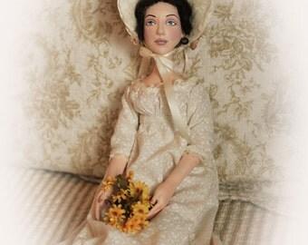 OOAK Regency Boudoir Doll