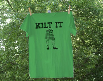 Kilt It Hand drawn artwork-St. Patrick's Day Shirt - CR