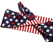 Stars and Stripes, Headscarf, Patriotic, Retro, Rockabilly