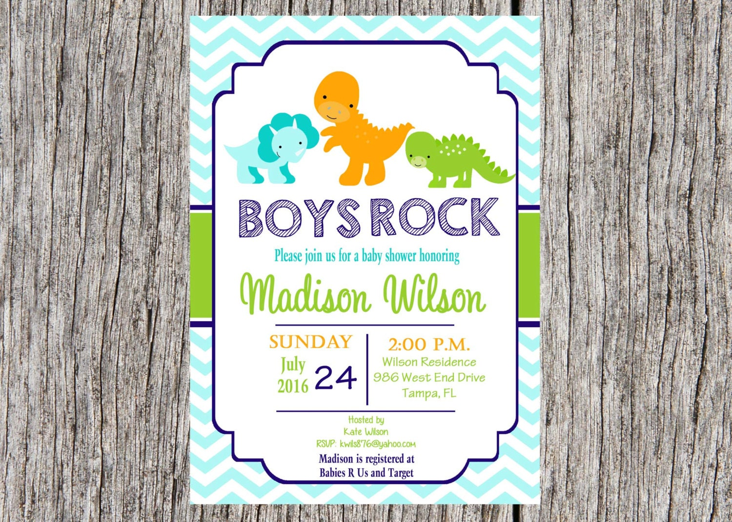 printed dinosaur baby shower invitation dinosaurs baby boy