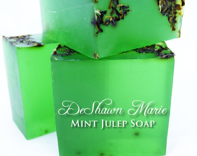 SOAP - 3 lb. Spearmint Vegan Handmade Soap Loaf, Wholesale Soap Loaves