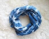 Tie Dye Wrap Blanket/Swaddle //Organic Cotton Muslin