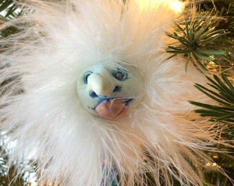 Frost Fairy Ornament Art Doll Santa Claus