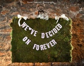 Prioirity Shipping -We've Decided On Forever-Bridal Shower Banner