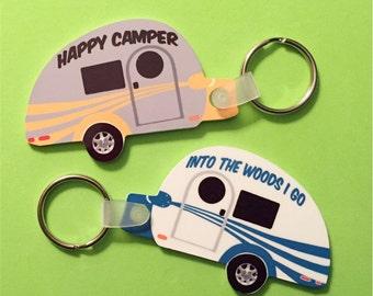 Tag Teardrop Trailer Key Tag Teardrop Trailer Key Tag Personalized Tab Key Tag Vintage Trailer Key Chain Tab Key Chain