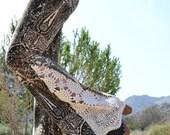 VALENTINES SALE JUNO Bells /// Boho Lux Divine Clothing /// Bohemian Velour & Vintage Crochet Bell Bottom Flare Pants