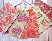 Floral Tag Assortment Flower Tags Garden Tea Party Wedding
