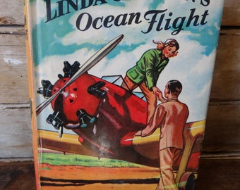 Vintage Linda Carlton Ocean Flight 1931