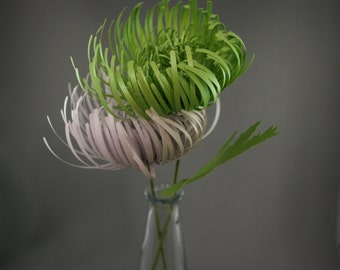 Paper Spider Chrysanthemums