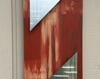 Metal wall art painting abstract metal sculpture art by Holly Lentz