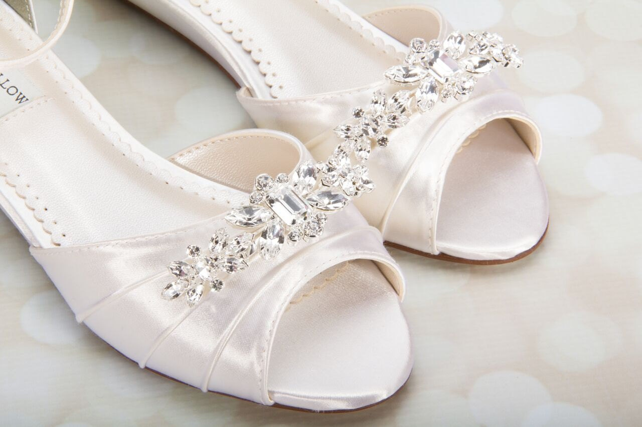 Wedding Wedge Shoes Wedge Wedding Shoes Wedges By Parisxox