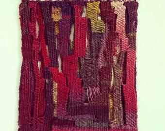 Reversible tapestry