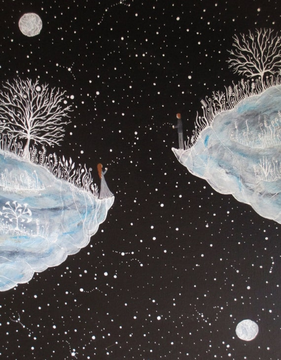 RESERVED FOR JENNIFER Original Painting-The Passage of Starlight