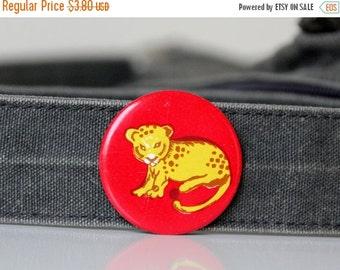 50% OFF Little Leopard, Vintage russian pin from USSR