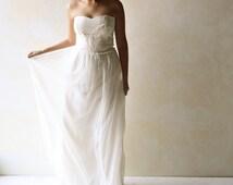 Wedding Dress, Boho wedding Dress, Bridal Gown, Hippie wedding dress, Fairy wedding dress, Alternative wedding dress, Beach Wedding gown