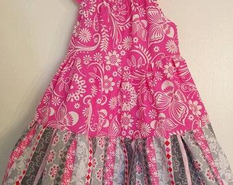 Spring Peasant Dress