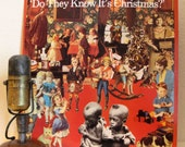 "ON SALE Christmas Vinyl Record 12"" Album 3-Track LP, Sting/Phil Collins/ Bono/ Paul McCartney/David Bowie, Band Aid(Original 1984)"