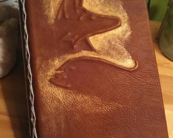 Red Fox Leather Journal